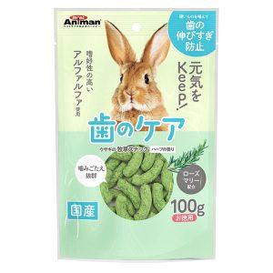 Hard Alfalfa Snack Herb Flavor for Rabbit - 100g - Animan - Noble Advance Pets