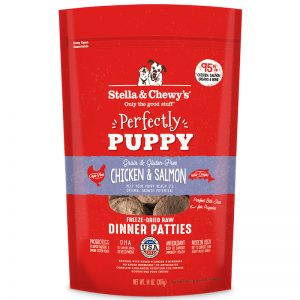 S&C's Dinner patties for puppy chicken salmon