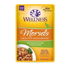Wellness Healthy indulgence morsels Chicken & Turkey