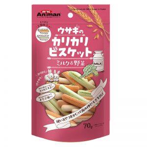 DM-5217 Animan Crispy Milk & Vegetable Biscuit for Rabbit 70g - Animan - Noble Advance