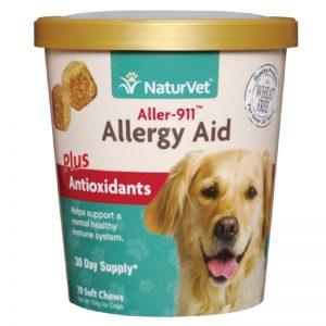 Aller-911® Allergy Aid Plus Antioxidants - NaturVet - Silversky
