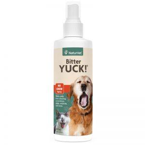 Bitter YUCK! No Chew Spray - NaturVet - Silversky