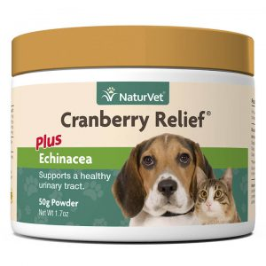 Cranberry Relief® Powder Plus Echinacea - NaturVet - Silversky