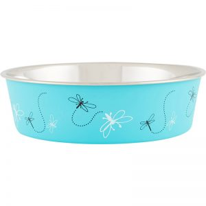 Dragonfly - Turquoise Bella Bowls® - Loving Pets - Silversky