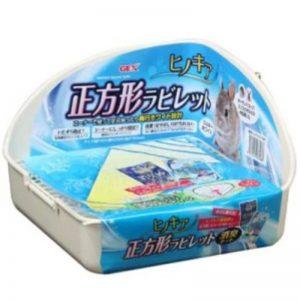 Gex Hinokia Square Toilet Set WHITE - GEX - Reinbiotech