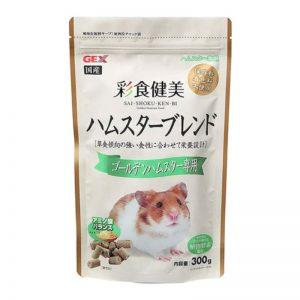 Gex Saishoku Kenbi Golden Hamster Food 300g (1) - GEX - ReinBiotech