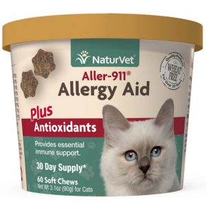 Naturvet Aller 911 Cat Allergy Aid Plus Antioxidants - NaturVet - Silversky
