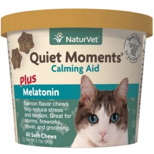 Naturvet Quiet Moments Calming Aid Plus Melatonin - NaturVet - Silversky