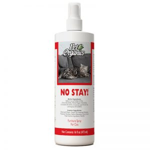 No Stay! Furniture Spray for Cats - NaturVet - Silversky