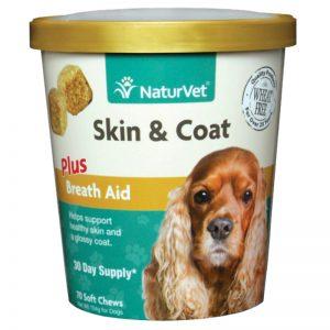 Skin & Coat Plus Breath Aid - NaturVet - Silversky