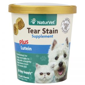 Tear Stain Supplement Plus Lutein - NaturVet - Silversky
