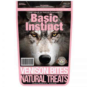 Venison Bites (2) - Basic Instinct - Silversky