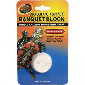Zoo Med Aquatic Turtle Banquet Block - Regular - GEX - ReinBiotech