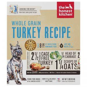 K2C Dehydrated Whole-Grain Turkey Recipe (Keen) - 2lbs (1) - The Honest Kitchen - Roots Technologies