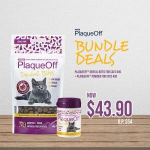 ProDen PlaqueOff® Powder for Cat 40g + Proden PlaqueOff® Dental Bites for Cat 60g Bundle Deal - Proden PlaqueOff® - Noble Advance (2)