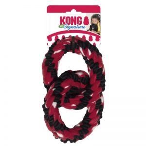 Signature Rope Double Ring Tug (2) - KONG - Roots Technologies