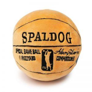 Spaldog Dog Toy - FuzzYard - Silversky