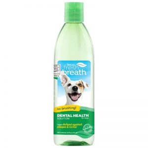 TropiClean Fresh Breath Dental Health Solution for Dogs, 16oz - Dental Health Solution - TropiClean - Silversky
