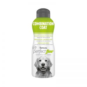 TropiClean PerfectFur Combination Coat Shampoo for Dogs (Front) - Perfect Fur TropiClean - Silversky