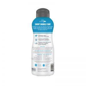 Tropiclean PerfectFur Short Double Coat Shampoo For Dogs (Back) - Perfect Fur TropiClean - Silversky