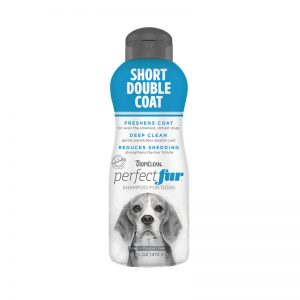 Tropiclean PerfectFur Short Double Coat Shampoo For Dogs (Front) - Perfect Fur TropiClean - Silversky