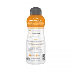 Tropiclean PerfectFur Thick Double Coat Shampoo For Dogs (Back) - Perfect Fur TropiClean - Silversky