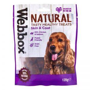 Webbox Natural Skin and Coat Treats - Webbox - Adec Distribution