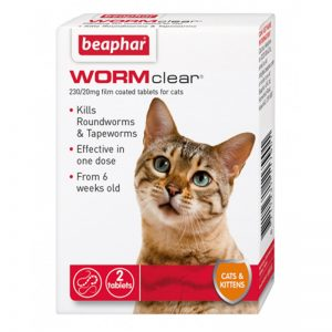 Wormclear Tablets CatKitten-From 6 weeks old - Beaphar - Adec Distribution