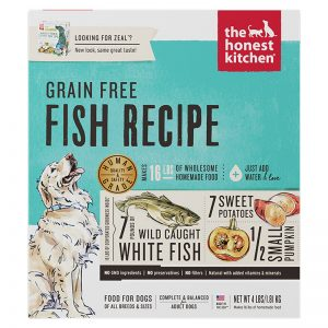 Z4C Dehydrated Grain-Free Fish Recipe (Zeal) - 4lbs (1) - The Honest Kitchen - Roots Technologies
