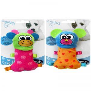 Aime Mini Toys Baby Giraffe & Mouse 13cm - Aime - Adec Distribution