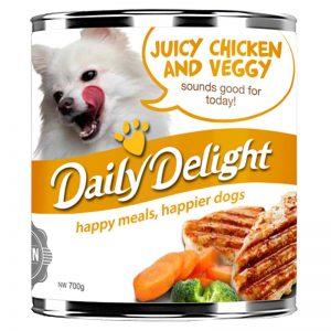 DD14 Chicken & Veg - Daily Delight - Yappy Pets