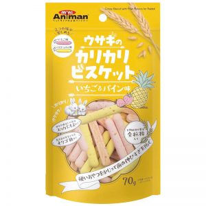 DM-24269 Crispy Fruit Biscuit for Rabbit - 70g - Animan - Noble Advance