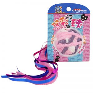 DM-Z3945 Caddice Ball - Iridescent Paper & Pink Tail - CattyMan - Noble Advance