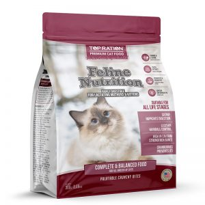 Feline Nutrition All Life Stages 300g - TopRation Cat Logo - Yappy Pets