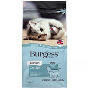 Kitten Chicken 1.5kg - Burgess - Yappy Pets