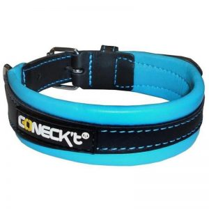 Leather Collar Blue EVERYDAY LIFE - Connect - Adec Distribution