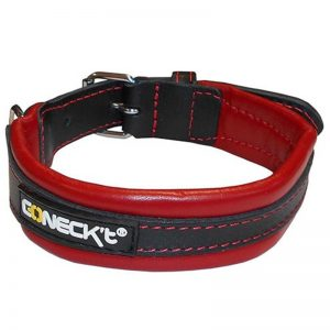 Leather Collar Red EVERYDAY LIFE M - Connect - Adec Distribution