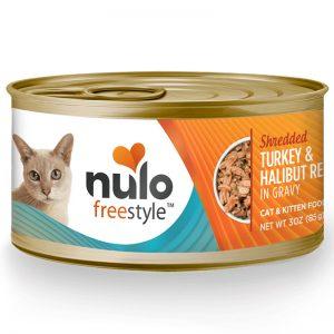 Nulo Freestyle Cat Grain-free Shredded Turkey & Halibut - Nulo - Adec Distribution