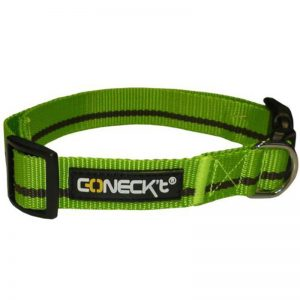 Nylon Collar GreenBrown EVERYDAY LIFE L - Connect - Adec Distribution