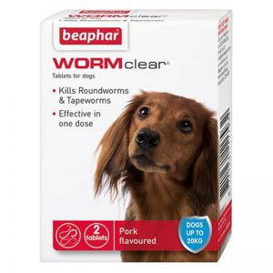 Wormer Tablets Wormclear Small Dog - Beaphar - Adec Distribution