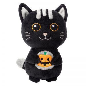 FZT457 FuzzYard Plush Dog Toy - Luna The Cat Small (1) - FuzzYard - Silversky