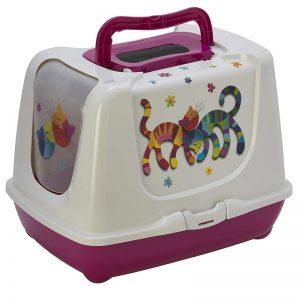 Moderna Trendy Friends Forever Cat Kittens Litter Tray Box -57Cm (2) - Moderna - AdecDistribution