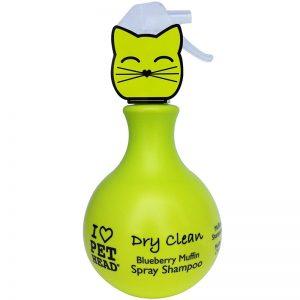 Pet Head Cat Dry Clean Blueberry Muffin Spray 450ml - PET HEAD - AdecDistribution