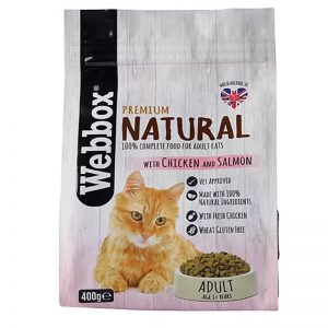 Webbox Natural Cat Dry Adult Chicken and Salmon - Webbox - Adec Distribution