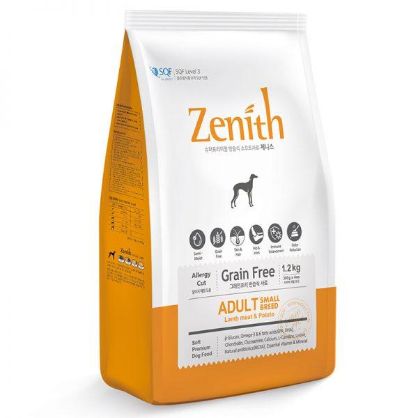 Zenith - Small Breed Lamb Meat & Potato BWZSB (1)