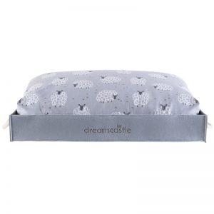 DreamCastle Cooling Dog Bed Felt Frame (3)