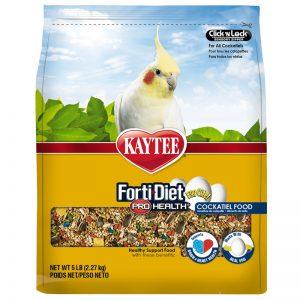 Kaytee Forti-Diet Pro Health Egg-Cite! Cockatiel Food