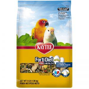 Kaytee Forti-Diet Pro Health Egg-Cite! Conure & Lovebird Food