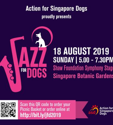 RSVP NOW  Jazz for Dogs 2019