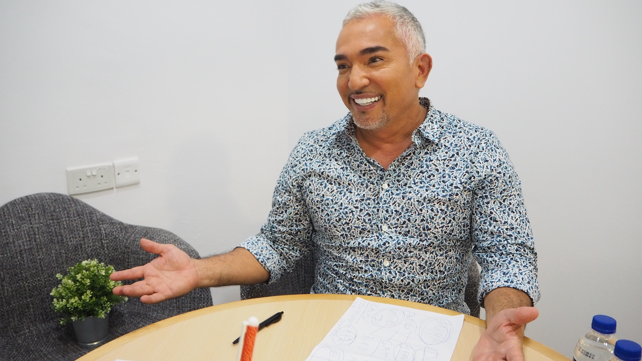 Dog Whisperer Cesar Millan Is on the Hunt for His Latest Recruit in Singapore